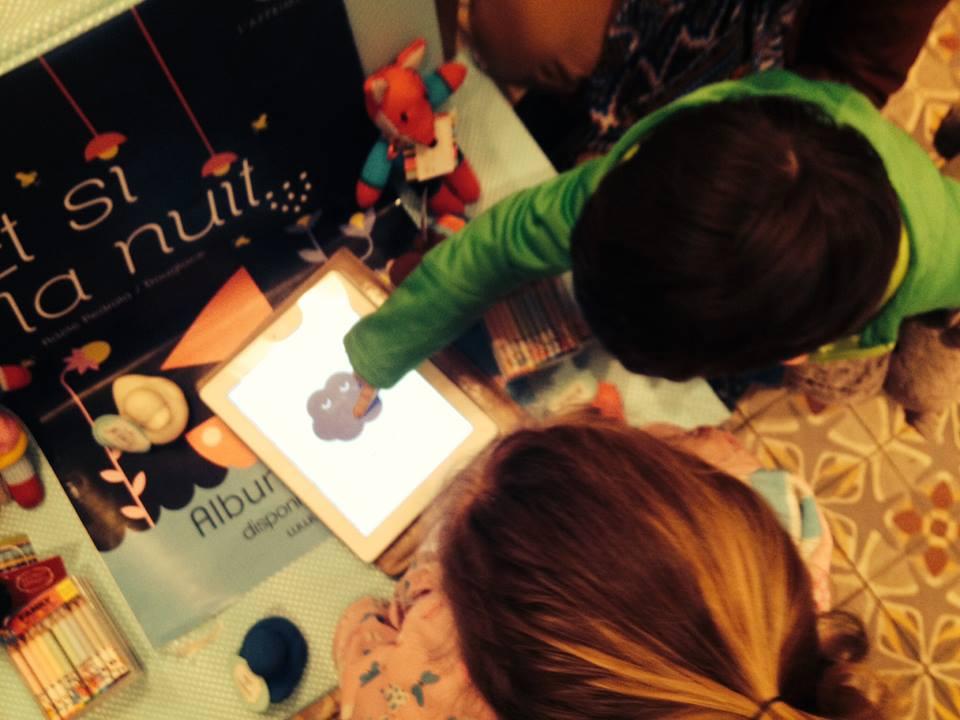 Les petits lecteurs découvrent Et si la nuit... et sont conquis !